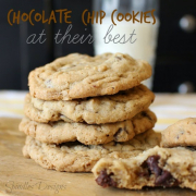 Chocolate Chip Cookies at their Best