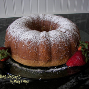 Almond Poppy Seed Bundt Cake