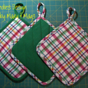 Easy to make Apron and Hot Pads