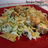 Chinese Chicken Salad with Rice Chips