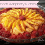 Fresh Peach-Raspberry Kuchen