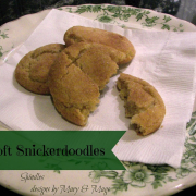Soft Snickerdoodles
