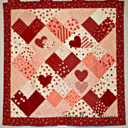Show and Tell Saturday {Valentine's Day Quilt}