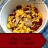 Yellow Rice with Beans and Sausage