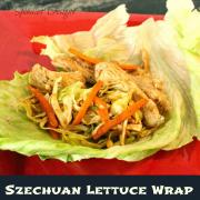 Szechuan Lettuce Wraps