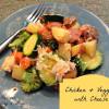 Chicken & Veggies with Cheese