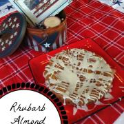 Gluten Free Rhubarb Almond Cake