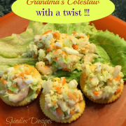 Grandma's Coleslaw-with a twist