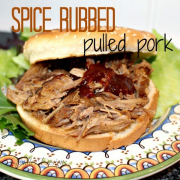 Spice Rubbed Pulled Pork