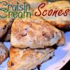 Craisin Cream Scones
