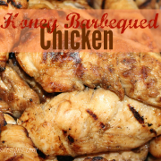 Honey Barbequed Chicken