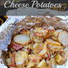 Dutch Oven Cheese Potatoes