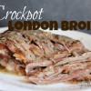 Crockpot London Broil