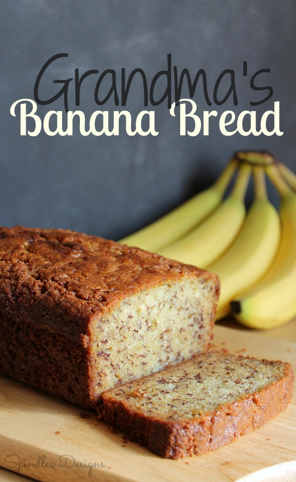 Banana Bread at SpindlesDesigns.com