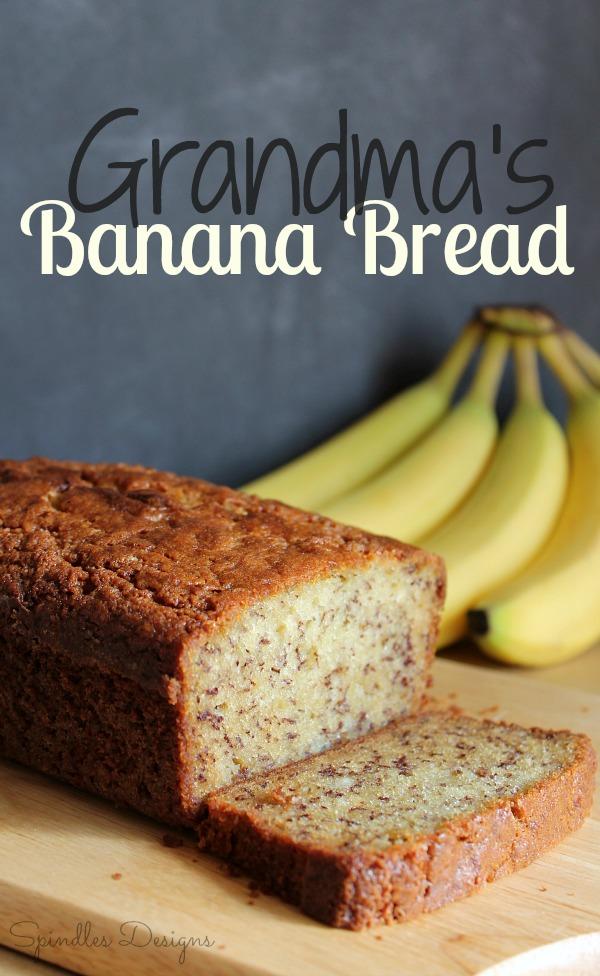 Banana Bread at SpindlesDesigns.com