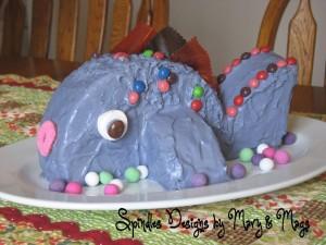 Fish Cake at SpindlesDesigns.com