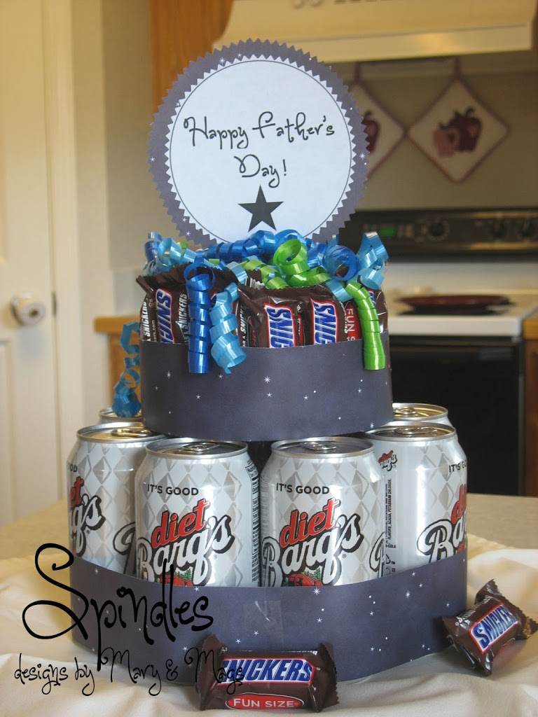 Cake Designs For Father S Day : Last Minute Father s Day Idea - Spindles Designs by Mary ...
