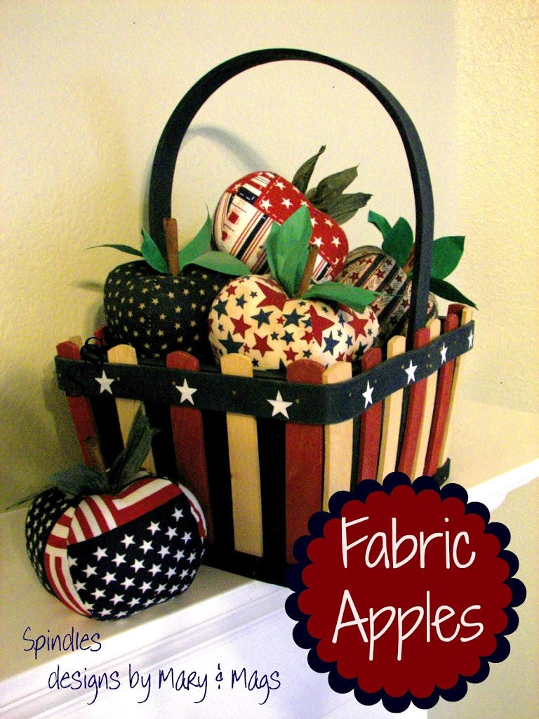Fabric Apples