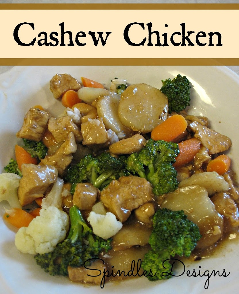 ... Cashew Chicken, but they love it. My son calls it soup and will eat