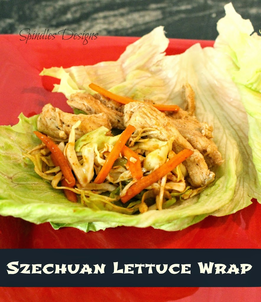 Lettuce Wrap Recipe  at spindlesdesigns.com