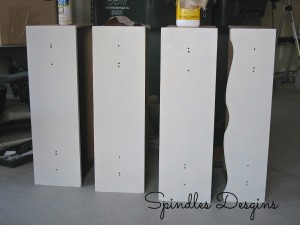 Painting old dresser ~ part of the master bedroom makeover. www.spindlesdesigns.com #masterbedroommakover