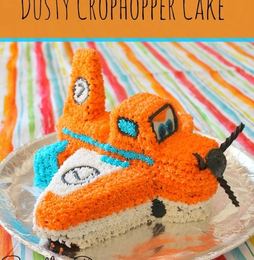 Dusty Crophopper Cake at SpindlesDesigns.com
