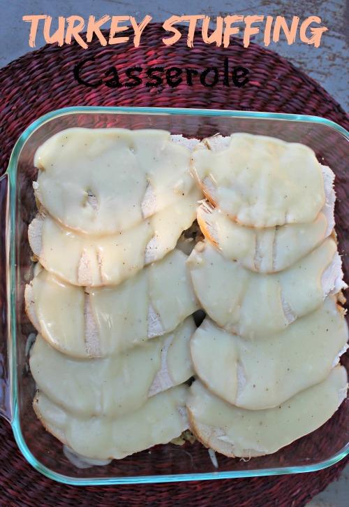 Turkey Stuffing Casserole