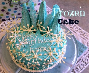 The best of 2014 at Spindles Designs #thebestof2014 #frozenbirthdaycake