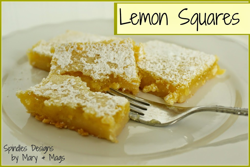 The best of 2014 at Spindles Designs #thebestof2014 #lemonsquares