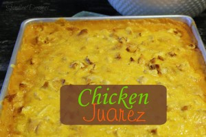 Chicken Juarez at www.SpindlesDesigns.com