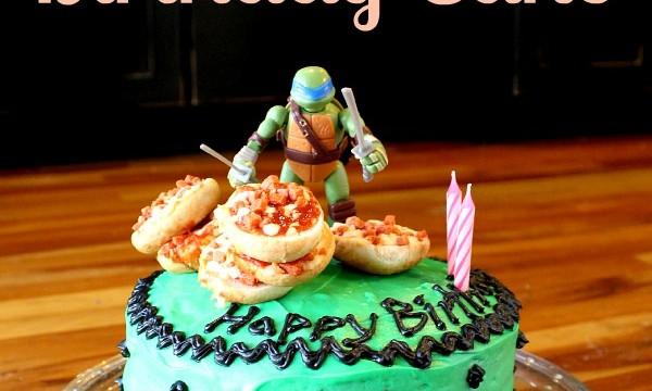 Ninaj Turtle Cake at www.spindlesdesigns.com