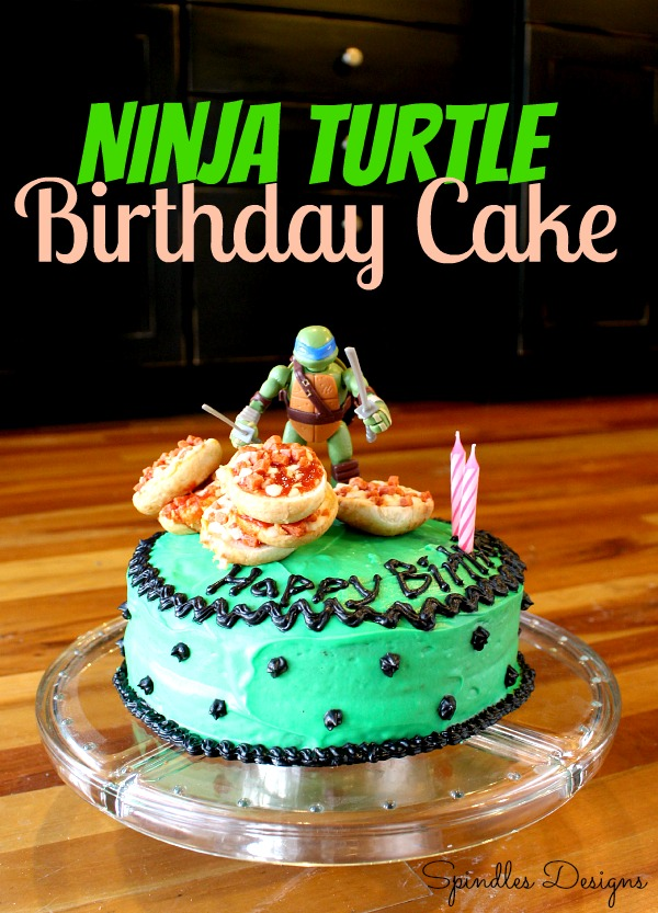 Turtle birthday Cake 2