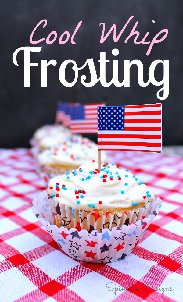 Cool Whip Frosting at SpindlesDesigns.com