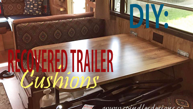 DIY: Recovered Trailer Cushions