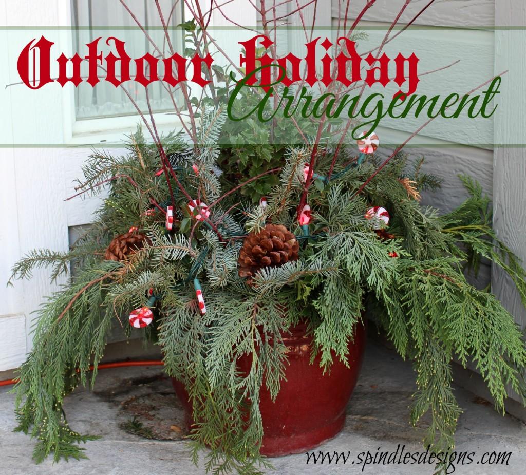 Christmas pot 8