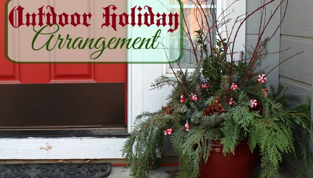 Outdoor Holiday Arrangement