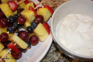 Fruit Kabobs and Fruit Dip2