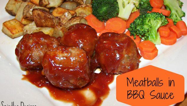 Meatballs in BBQ Sauce
