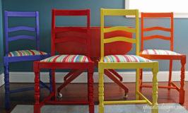 Renew & Brighten Old Chairs